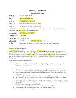 Example Food Pantry Assistant Job Description_Page_1